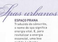 """Espaço Prana na revista """"RSVP"""""""